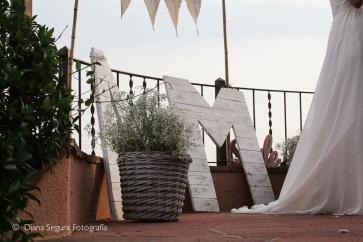 Decoración sostenible para bodas