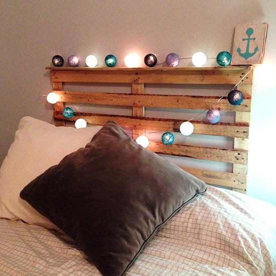 Cabeceros de palets good ideas con palets cama cabecera for Cabeceros de cama con palets