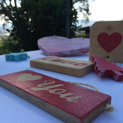 Carteles de amor para una boda