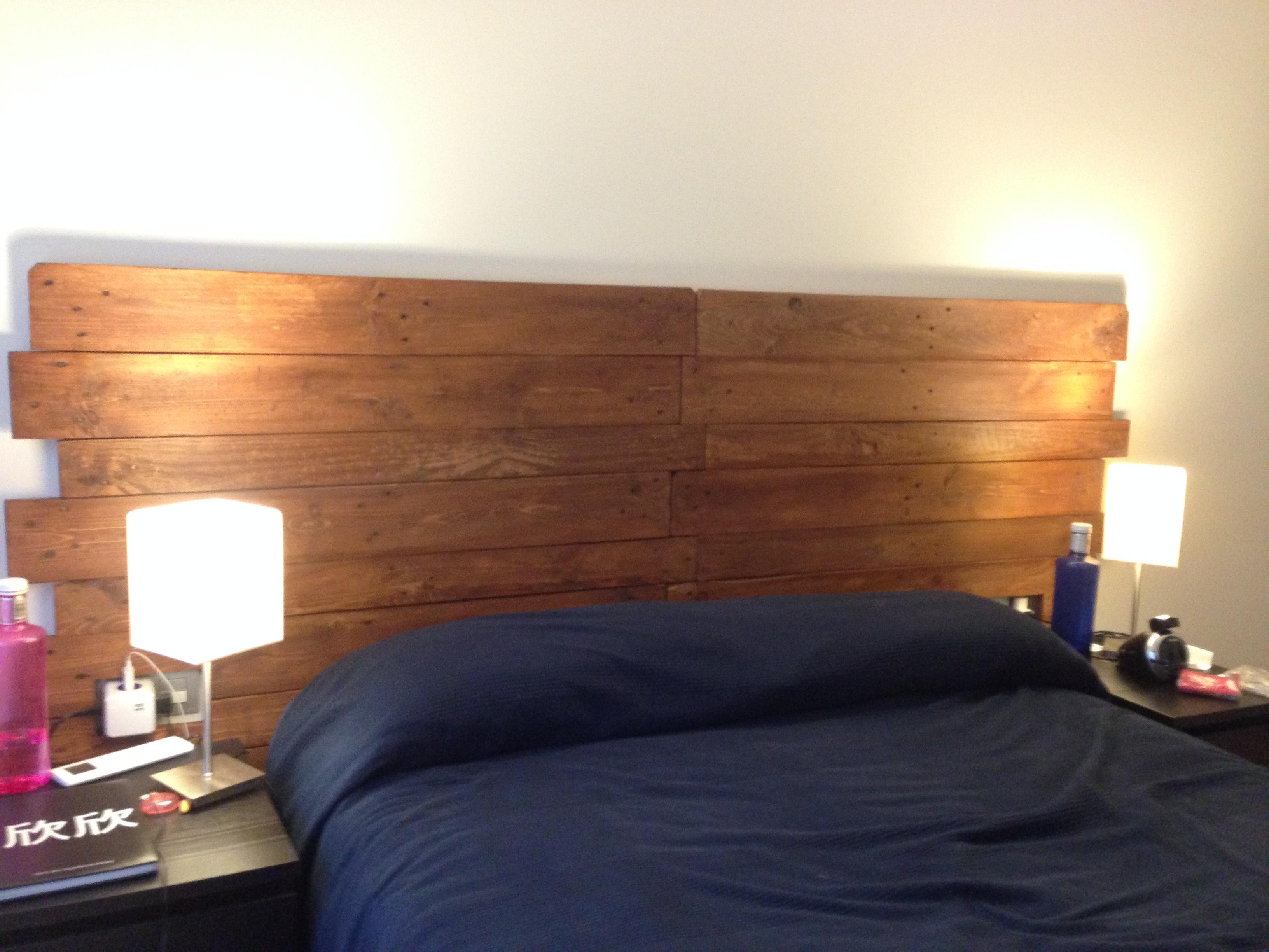 Cabeceros ibid wood - Cabecera de cama reciclada ...