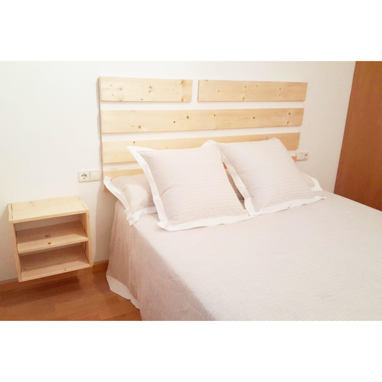 Cabeceros madera cabecero de maderas el toque perfecto la for Cabeceros de cama zaragoza