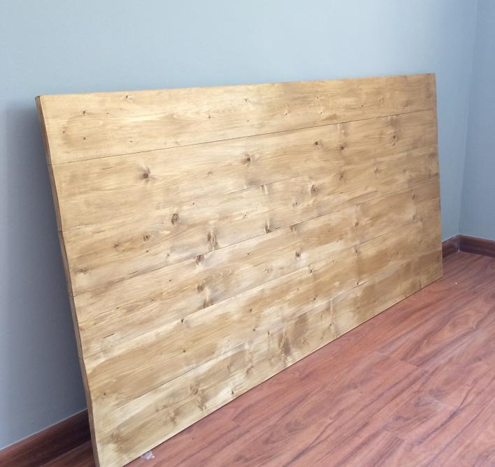 Cabeceros de cama rusticos de madera cheap ideas de - Cabeceros de cama rusticos ...
