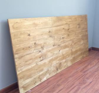 Cabecero de cama de madera roble